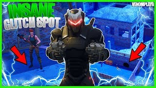 Tilted Towers Under Map Glitch! God Mode in Fortnite
