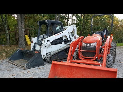 #75 Skidloader Vs  Tractor Which Do You Need