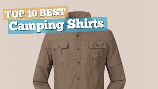 Camping Shirts // Top 10 Best Sellers 2017