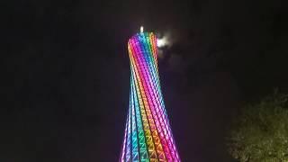Гуанчжоу. Кантонская телебашня. Красивые виды. Публикую остатки видео без DJI