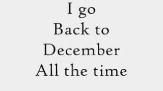 Back to December Instrumental with Lyrics