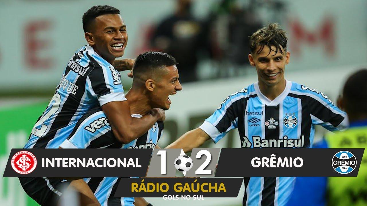 Internacional 1 X 2 Gremio Radio Gaucha 16 05 2021 Youtube