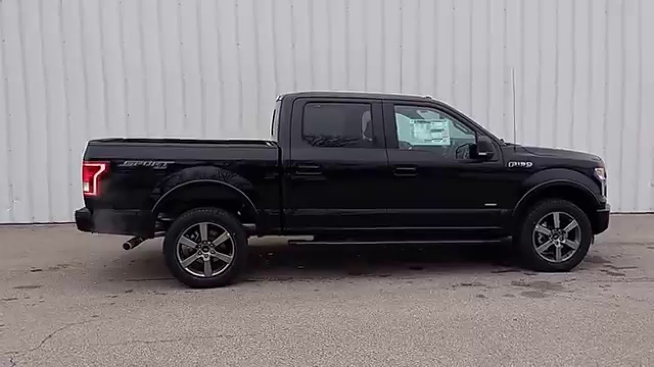 shadow black 2016 f 150 supercrew 4x4 xlt 302a 3 5l ecoboost xlt sport package youtube. Black Bedroom Furniture Sets. Home Design Ideas