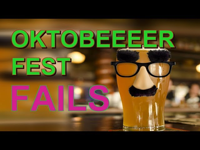 OktoberFest FAILS PUKE BEER VOMIT and DRUNKERs || Fails and funny! || Drunk Fail Compilation!