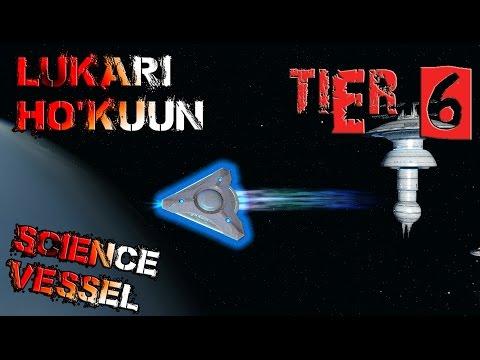 Lukari Ho'kuun Science Vessel [T6] – with all ship visuals - Star Trek Online