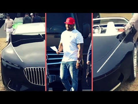 50 Cent Buys New 2018 Mercedes-Maybach 6 All Black Fresh Off The Lot