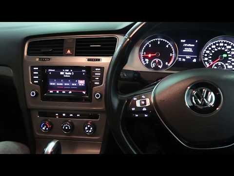 How to reset tyre pressure light VW Golf MK7 2013-