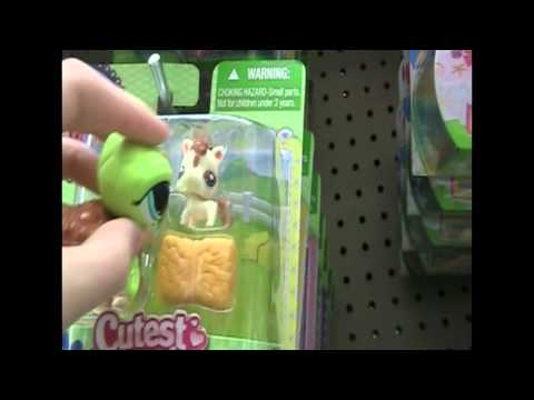 Littlest Pet Shop Shelldon Goes To Toys R Us