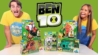 Ben 10 Toy Challenge !  || Toy Review || Konas2002