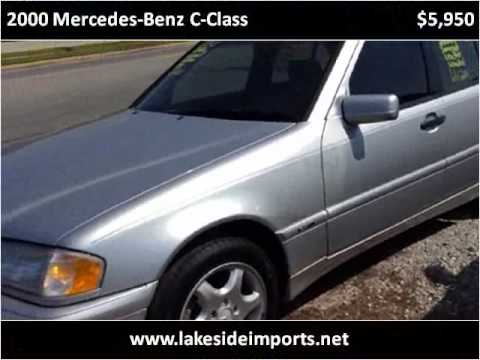 2000 Mercedes Benz C Class Used Cars Mobile AL