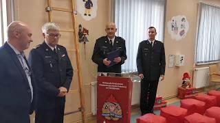 Otwarcie salki edukacyjnej w Straży Pożarnej w Działdowie