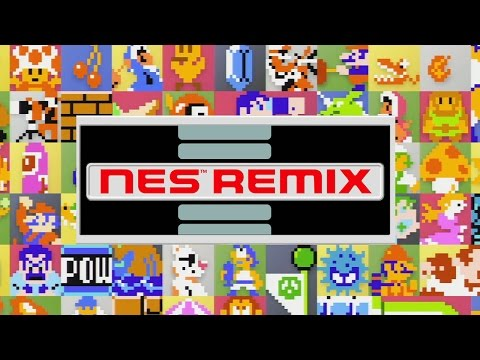 CGR Undertow - NES REMIX review for Nintendo Wii U