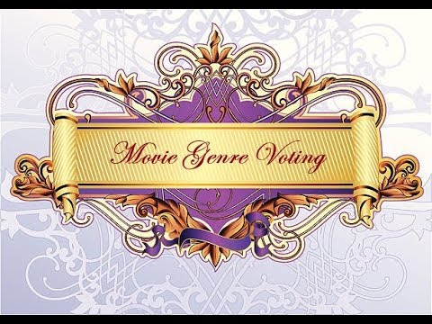 Movie Genre Voting 2018 | Results' Video
