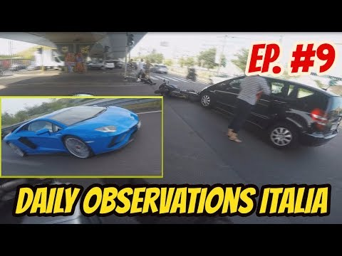 Daily Observations Italia #9 | Incidenti, Subaru Baracca e Supercars a Milano