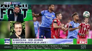 After Foot du vendredi 18/08 – Partie 4/4 - Bundesliga: le Bayern Munich déjà lancé