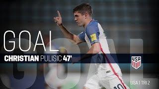 MNT vs. Trinidad & Tobago - Christian Pulisic Goal - Oct. 10, 2017