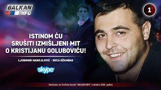 INTERVJU: Buca Manojlović - Istinom ću srušiti izmišljeni mit o Kristijanu Goluboviću! (20.10.2020)