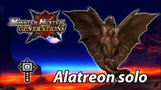 MHGen Alatreon solo (Guild Hammer) - 9'56