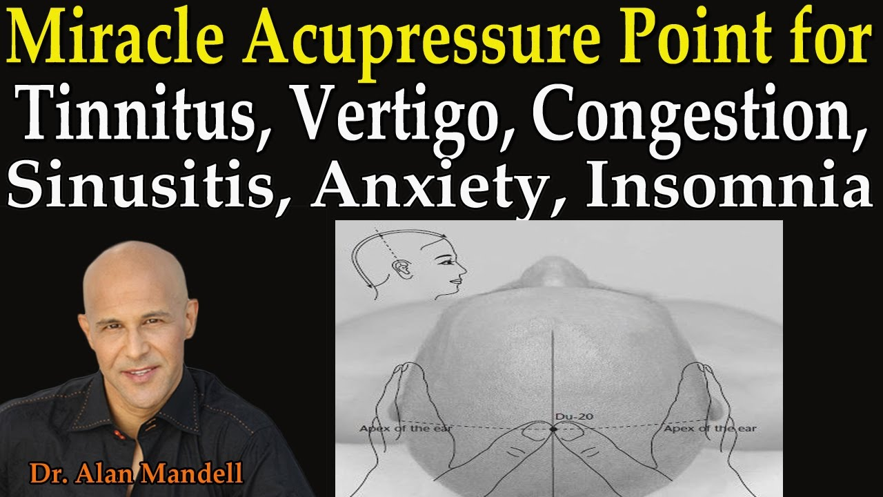 Miracle Acupressure Point for Tinnitis, Vertigo ...