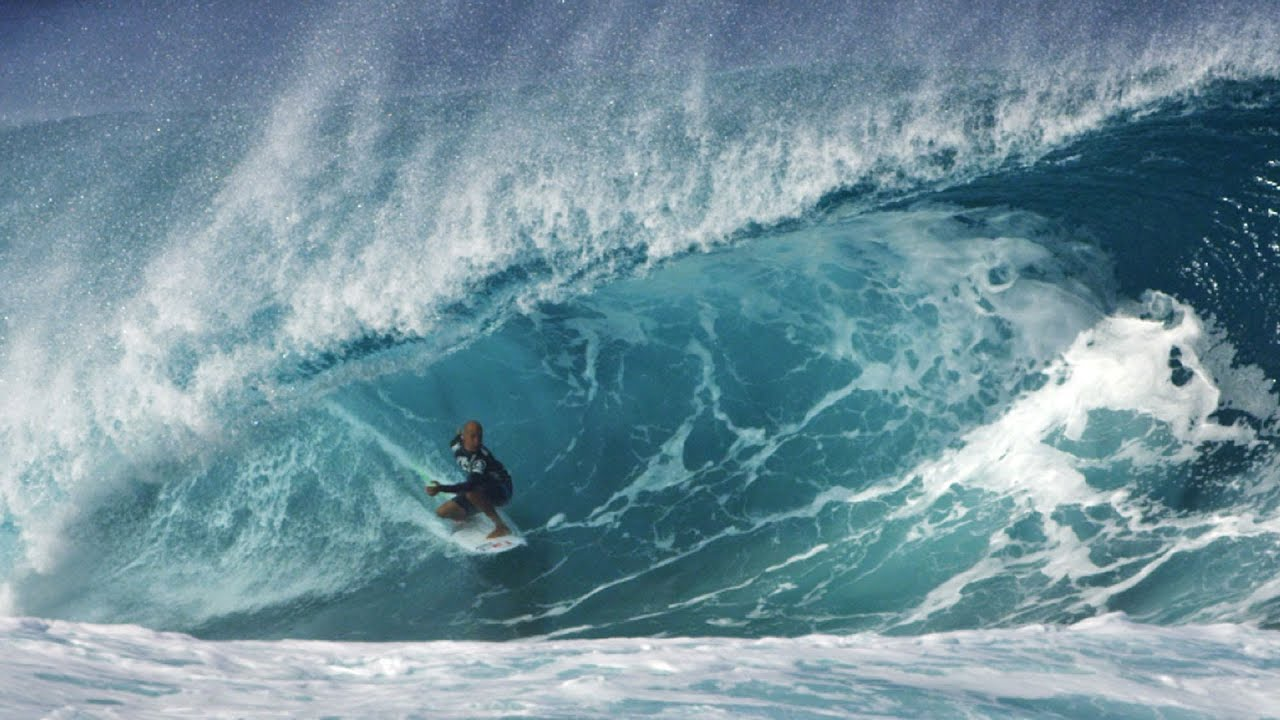 b67b1abf0c Kelly Slater 10 Point Tube Ride at Pipeline - YouTube