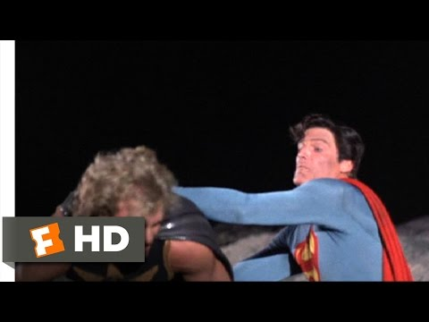 Superman IV (9/10) Movie CLIP - Moon Battle (1987) HD