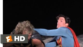 Superman IV (9/10) Movie CLIP - Moon Battle (1987) HD