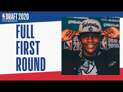 All 30 First Round Picks | 2020 #NBADraft