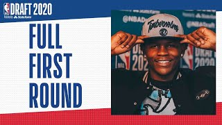 All 30 First Round Picks | 2020 #NBADraft