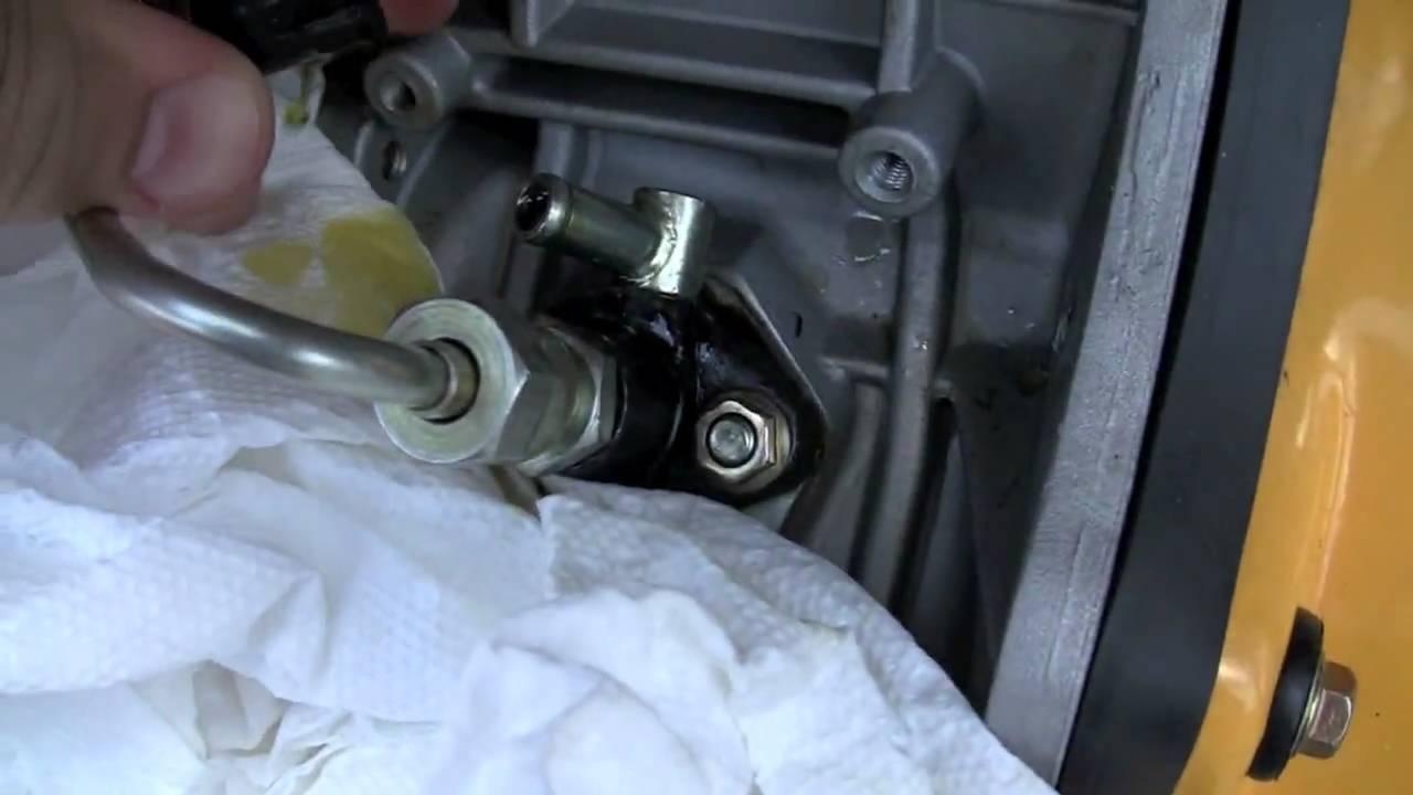 Bleeding Air Yanmar Diesel Aurora Generator Youtube Prime Genset Pr7500cl 6000watt