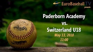 ACADEMY TOURNAMENT: Paderborn vs. Switzerland