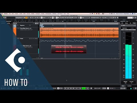 Audio Warp not Matching Audio Files | Cubase Q&A with Greg Ondo