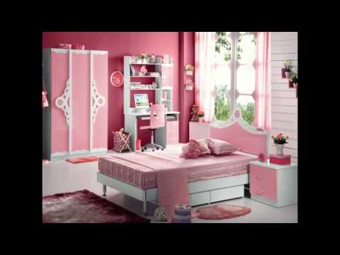 chambres coucher pour filles bedrooms for girls habitaciones para ni as 480p. Black Bedroom Furniture Sets. Home Design Ideas