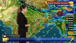 Weather Forecast March 27: Rain in Kolkata, Kerala, Dry weather in Delhi, Hyderabad | Skymet Weather