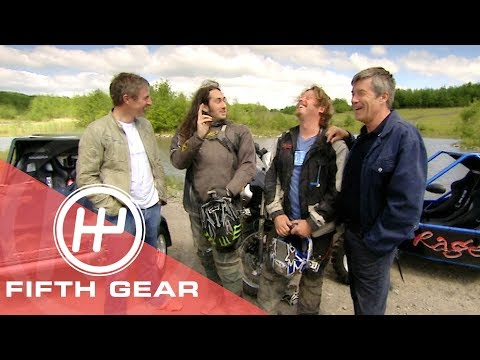 Fifth Gear: 4 Wheel Vs 2 Wheel OffRoad Challenge With Ross Noble & Charley Boorman