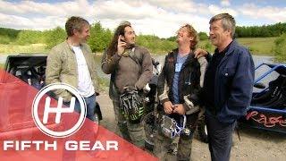 Fifth Gear 4 Wheel Vs 2 Wheel Off Road Challenge With Ross Noble Charley Boorman смотреть