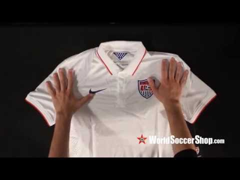 NIke USA 2014 Authentic Home Soccer Jersey - Unboxing