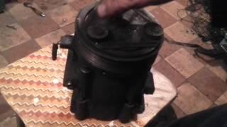 Как проверить компрессор кондиционера на предмет жив ли он). Ford Mondeo 3, мк3, 2.0, 2.0 дизель.(, 2016-03-25T18:10:40.000Z)