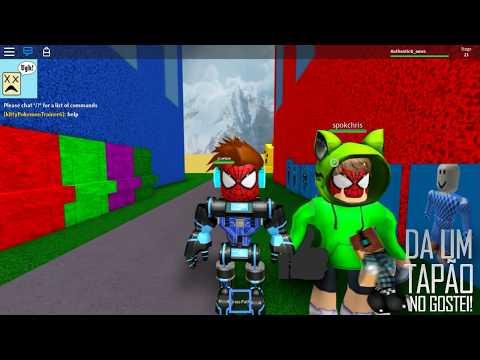 Jogo Roblox – O GIGANTE QUER ME COMER !! ( Roblox Escape Room ) Online Gratis