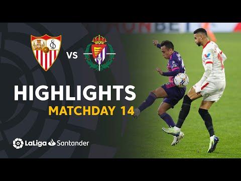 Sevilla Valladolid Goals And Highlights