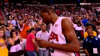 Dreamteam 2012 U.S. Olympic Basketball Team vs Dominican Republic FUll Highlights and Recap