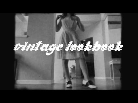A 1950s Aesthetic Lookbook Youtube