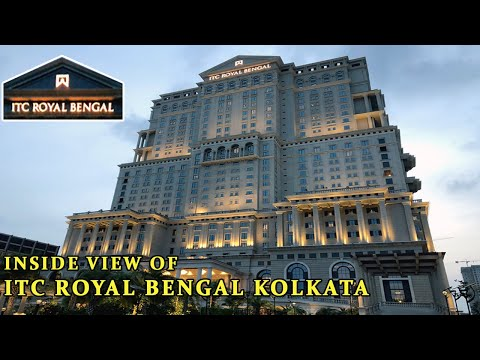 5 STAR LUXURY HOTEL ITC ROYAL BENGAL KOLKATA| MAIN LOBBY| GYM| SPA| SWIMMING POOL| RESTAURANT