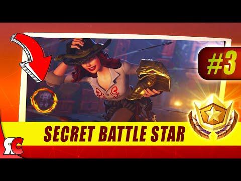 Fortnite | WEEK 3 Secret Battle Star Location (Season 8 Battle Star Discovery Loading Screens)