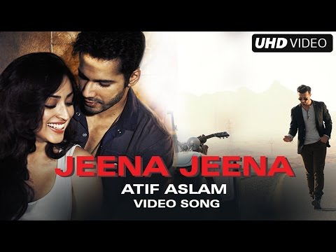 Jeena Jeena | Official Full Video Song | 4K Uᴴᴰ | Badlapur | Atif Aslam | (Unplugged Solo)