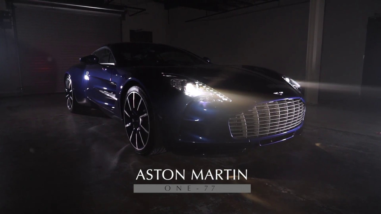 aston martin one-77 for sale - youtube