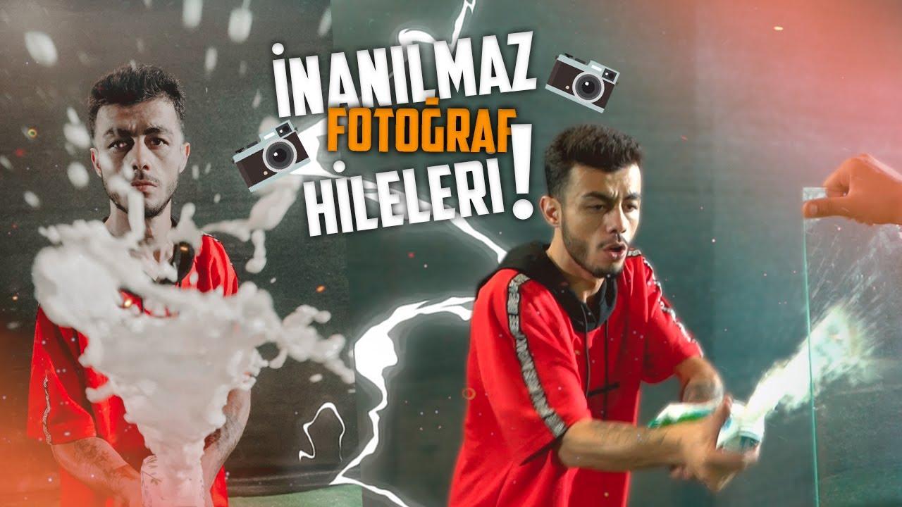 İNANILMAZ FOTOĞRAF HİLELERİ!! (ŞOK OLACAKSINIZ)