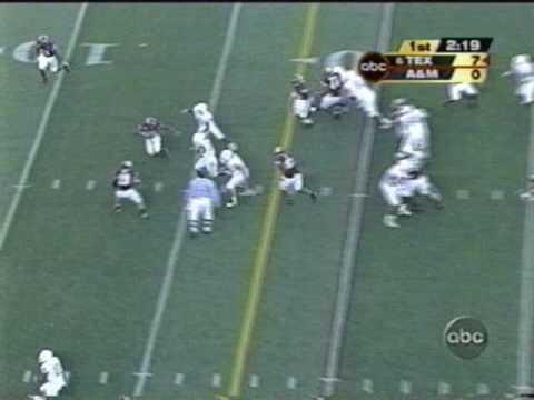 Cedric Benson Touchdown VS Aggies