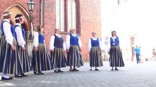 00049 Vokālo ansambļu ielu koncerts Doma laukumā 7.07.2018