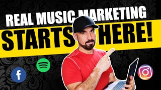 REAL Music Marketing Starts Here | Vision