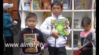 Uni Mobile Library opens in Almaty second time